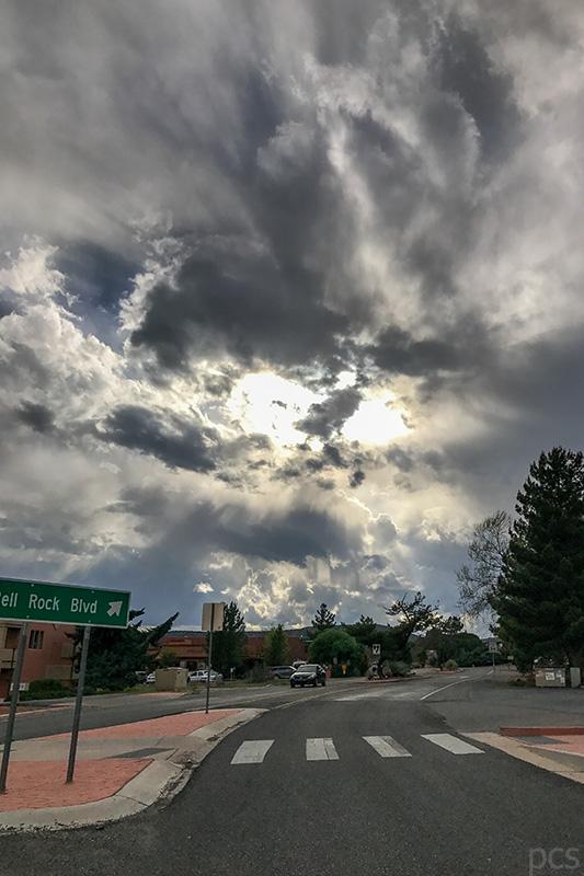 Drohendes Unwetter Arizona Luxify Reisebericht