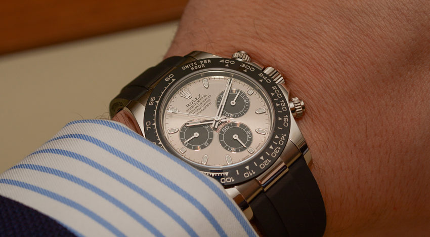 Hands-on Rolex Daytona Oysterflex