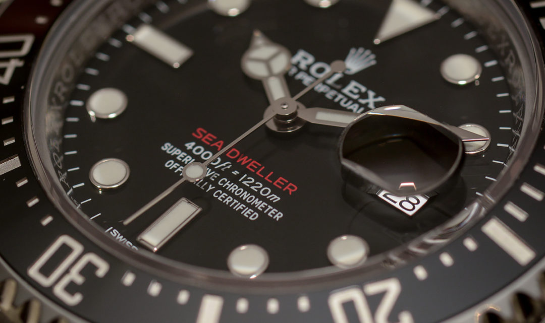 "Hands-on Rolex ""red"" Sea-Dweller 126600"