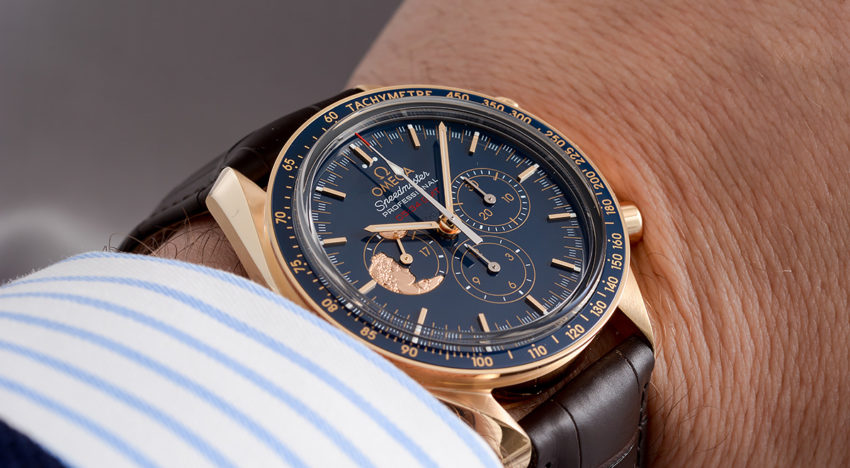 Hands-on Omega Speedmaster Apollo XVII 2017