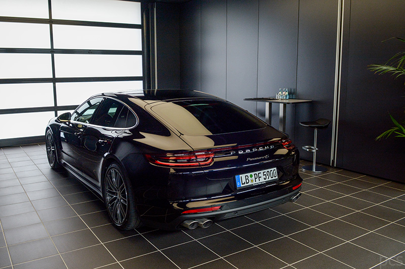 Porsche Panamera 4S - Heckansicht