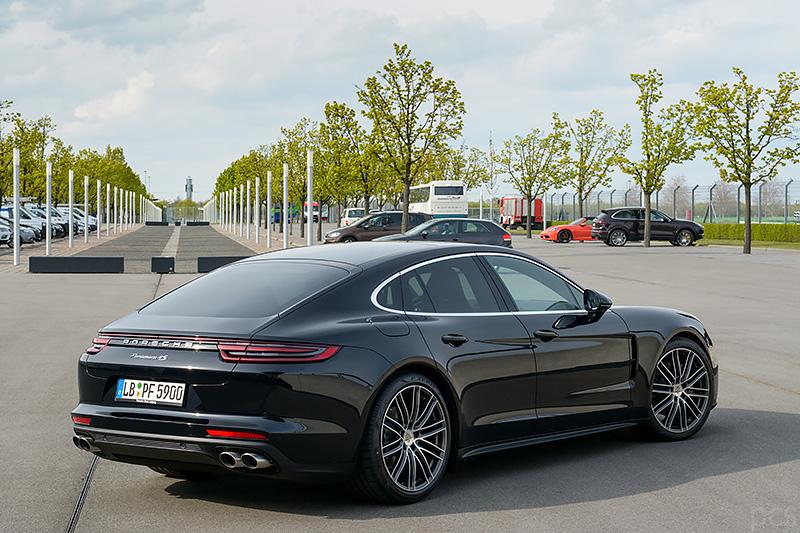 Porsche Panamera 4s Seitenansicht