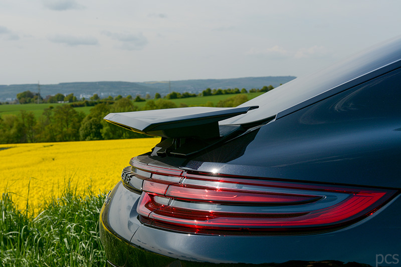 Porsche Panamera 4s Heck