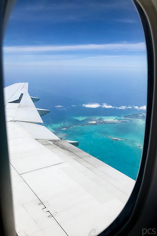 Luftaufnahme Luxify Reisebericht Nassau Bahamas