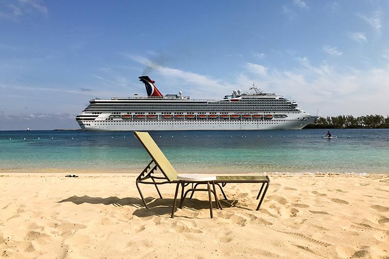 Carnival Kreuzfahrtschiff Nassau Bahamas