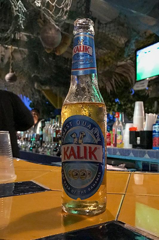 Kalik Bier Luxify Reisebericht Nassau Bahamas