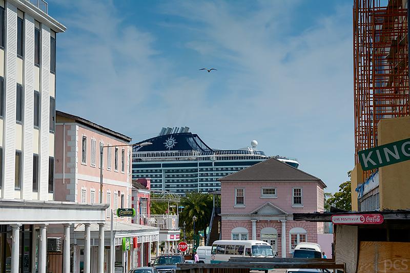 MSC Kreuzfahrtschiff Nassau Bahamas