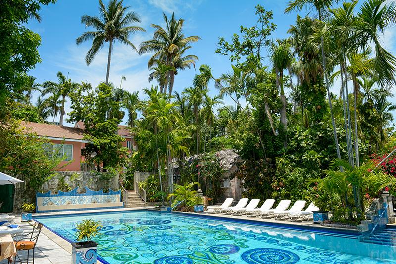 Pool Graycliff Hotel Nassau Bahamas