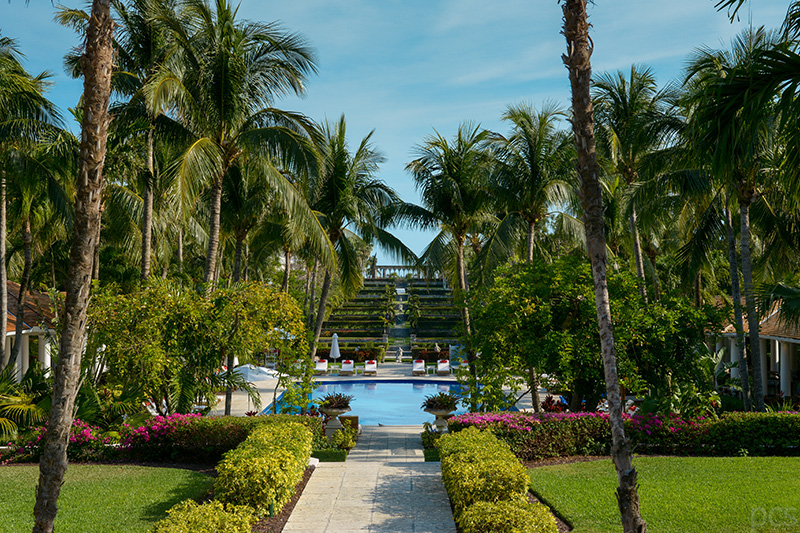 Versailles Gärten Ocean Club Nassau Bahamas
