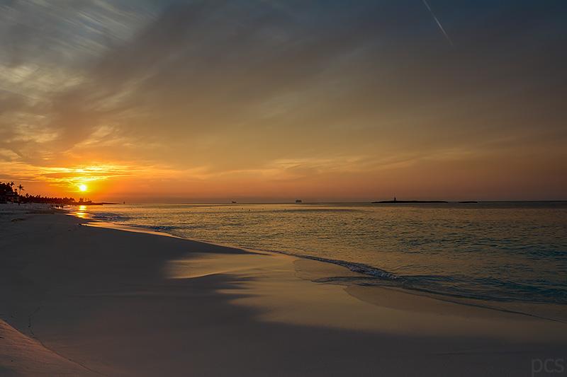Cabbage Beach Paradise Island Nassau Bahamas