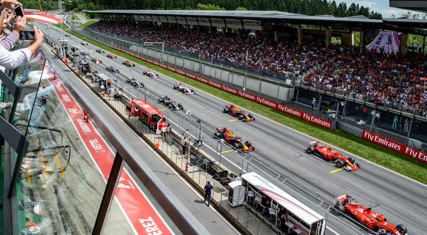 Formel 1: der Große Preis von Österreich