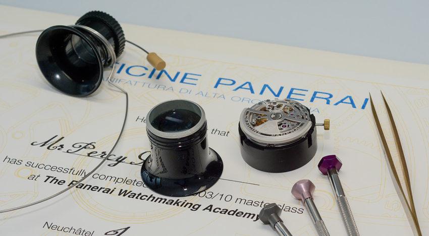 Panerai – zu Gast in der neuen Manufaktur