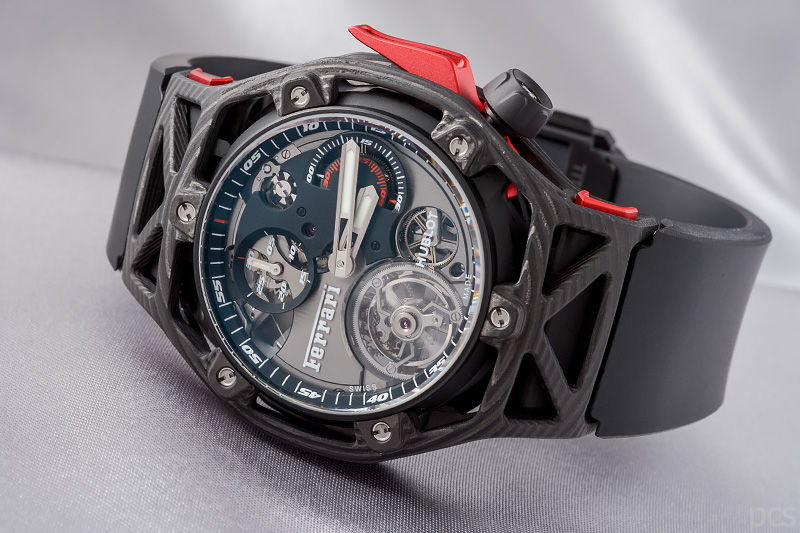 70 jahre ferrari hublot techframe tourbillon chronograph. Black Bedroom Furniture Sets. Home Design Ideas