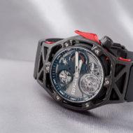 Hands-on Hublot Techframe Ferrari Tourbillon Chronograph