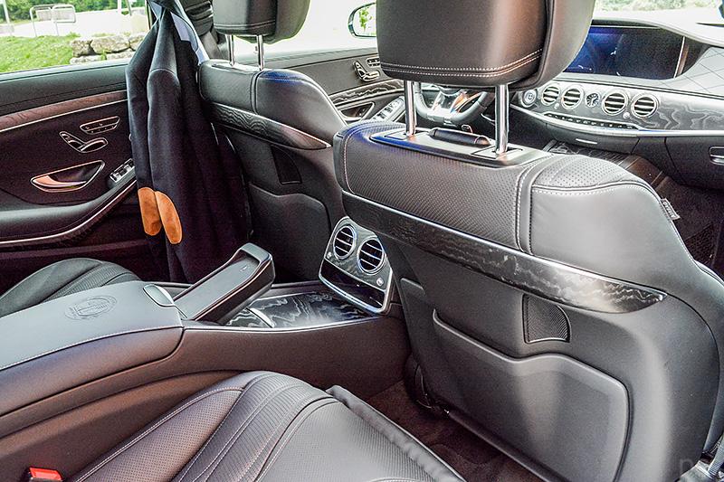Ausstattungslinie Leder Exklusiv Nappa AMG schwarz