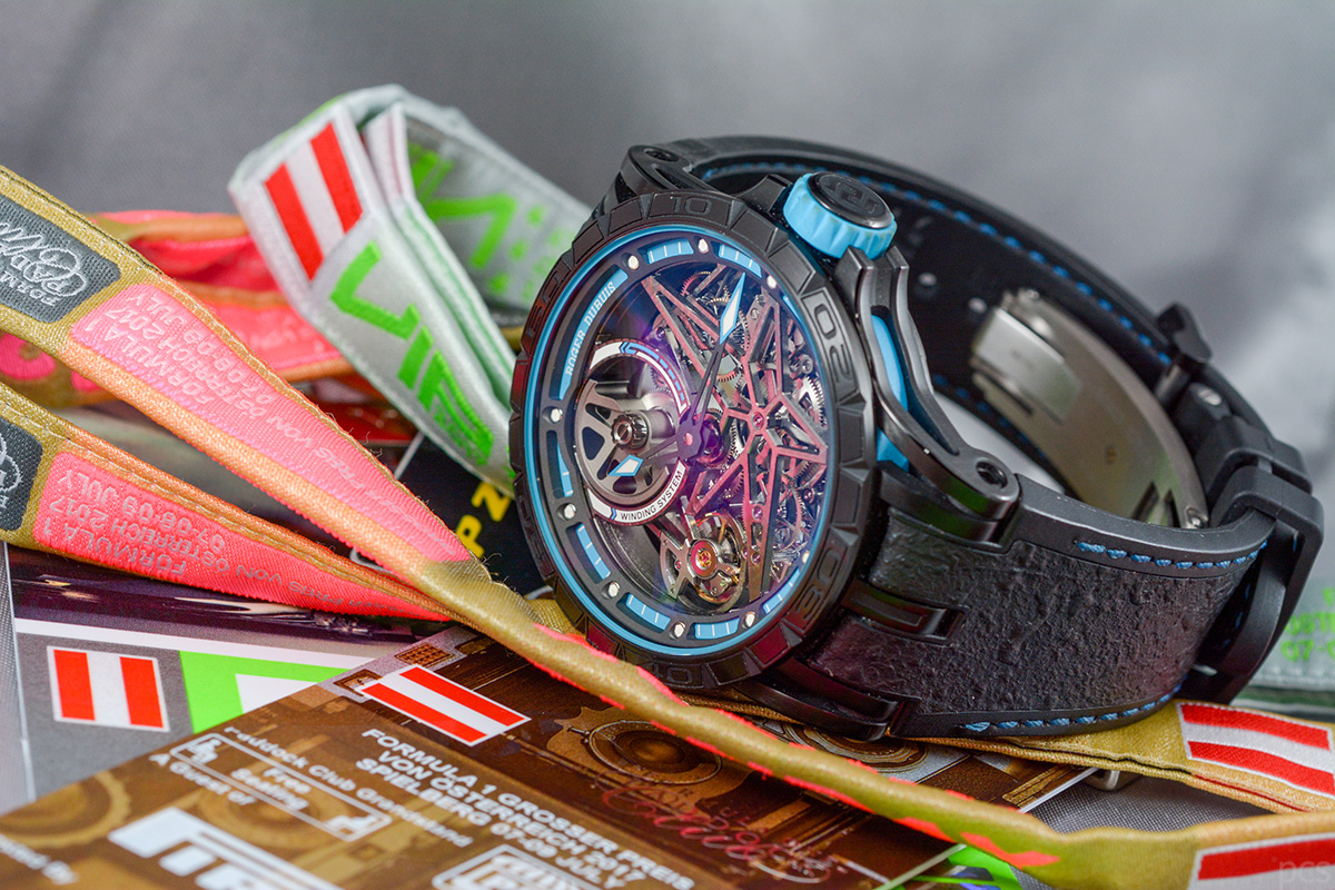 Hands-on Roger Dubuis Excalibur Spider Pirelli