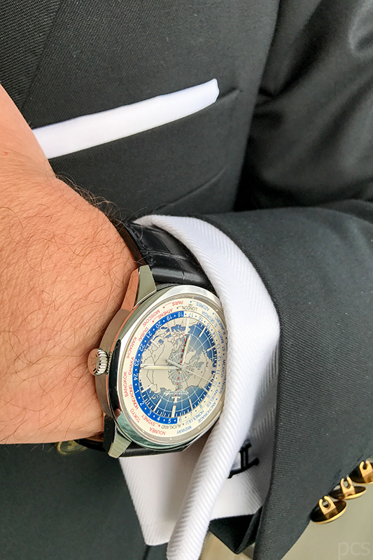 Wristshot Jeager-LeCoultre Geophysic Universal Time