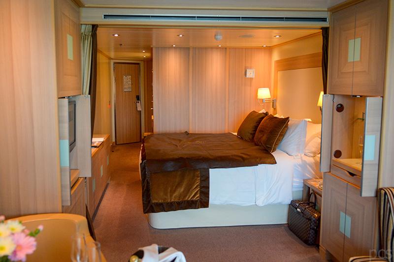 Kabine Suite 5 Sterne Luxus Kreuzfahrtschiff Seabourn Quest Luxify