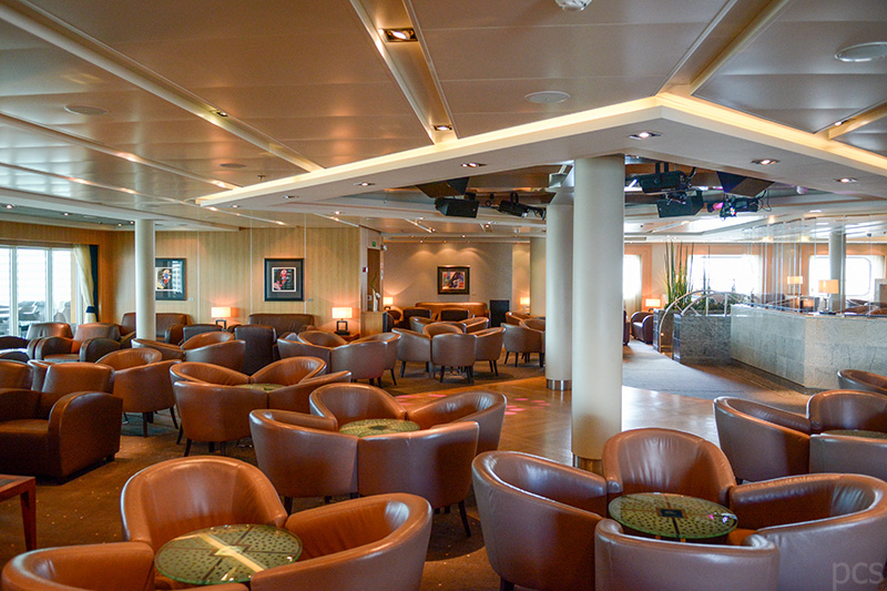 Seabourn Quest Bar und Lounge The Club