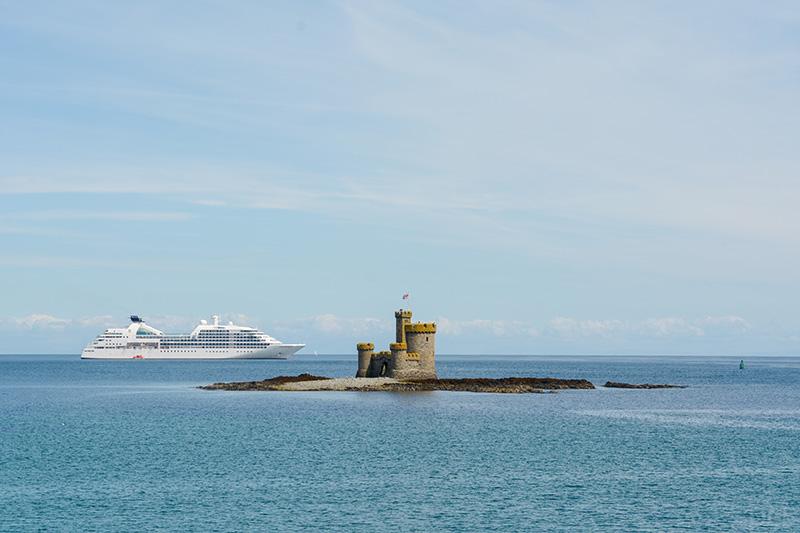 Luxus Kreuzfahrtschiff Seabourn Quest Isle of Man