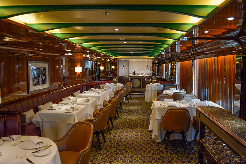 Restaurant und Steakhouse The Grill - by Thomas Keller auf der Seabourn Quest