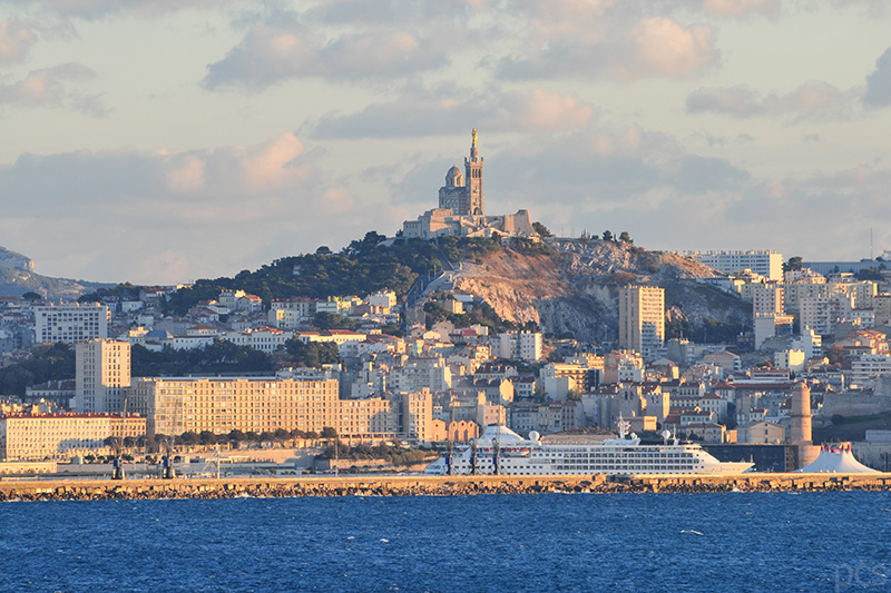 Marseille in der Abendsonne