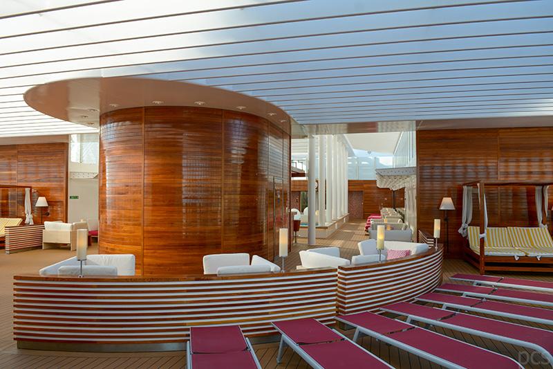 Ein Hauch von Privatyacht: Patio Deck
