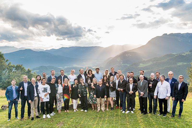 Glücklich: Teilnehmer der 50 Years AMG Anniversary Tour