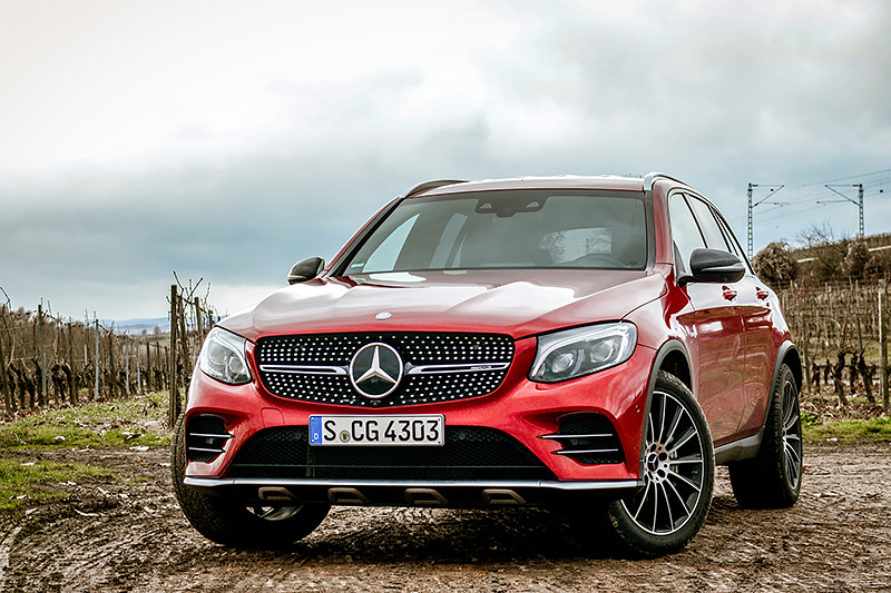 Fahrbericht Mercedes Amg Glc 43 Luxify