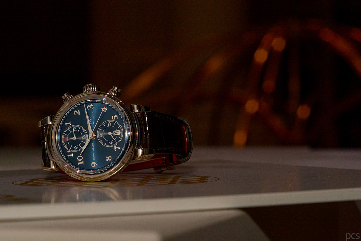 Hands-on IWC Da Vinci Chronograph Laureus
