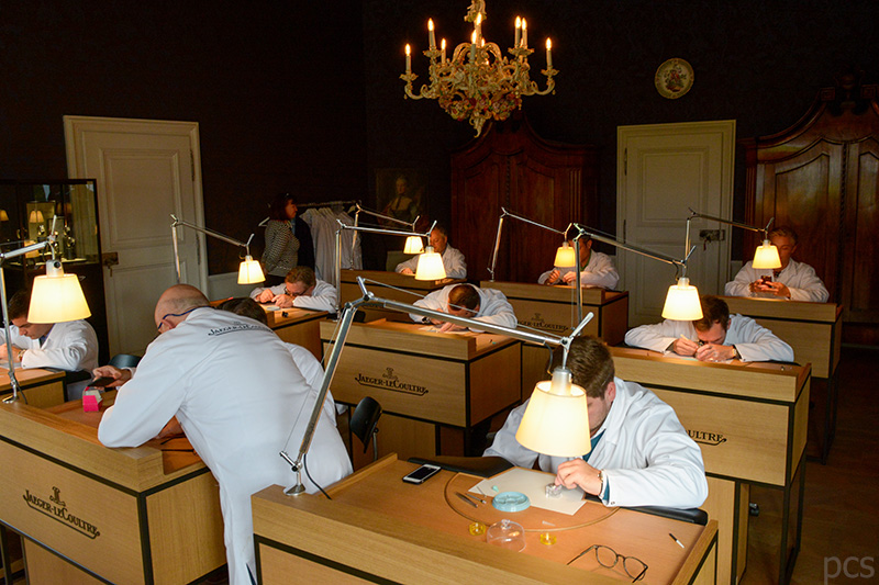 Luxify Watch Making Master Class Jaeger-LeCoultre Nymphenburg