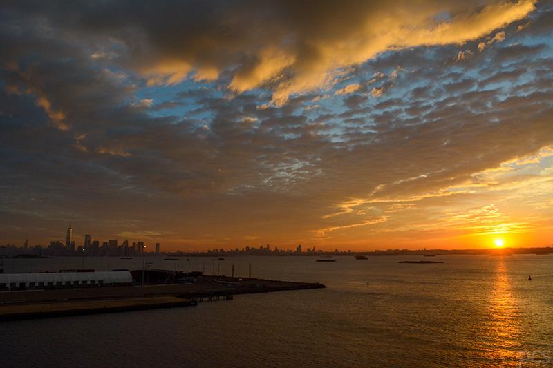 Beeindruckend: Sonnenaufgang über New York