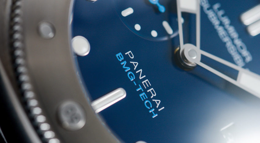Hands-on Panerai Submersible BMG-TECH