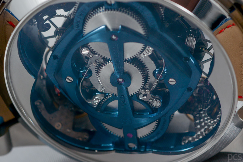 Luxify Review Hand on Roger Dubuis Excalibur Cobalt Micro Melt