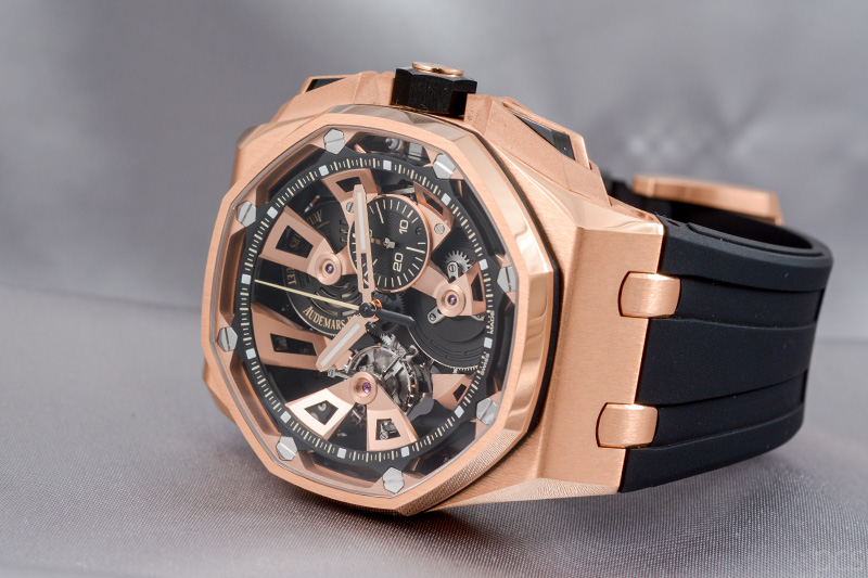 Audemars Piguet Royal Oak Offshore Tourbillon Chronograph 45 mm, Ref. #26421OR.OO.A002CA.01