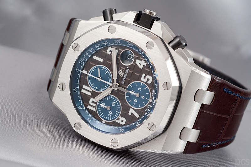 Brauner Audemars Piguet Royal Oak Offshore Chronograph 42mm, Ref. #26470ST.OO.A099CR.01