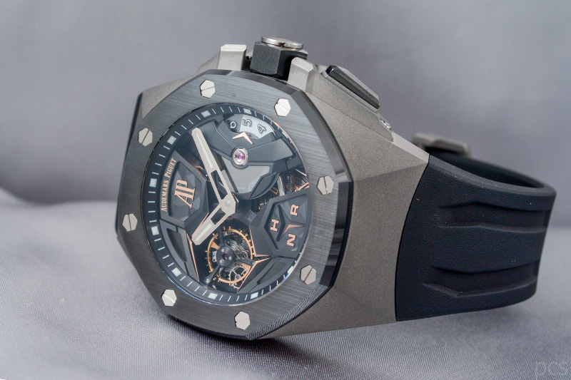 Audemars Piguet Royal Oak Concept Flying Tourbillon GMT 44 mm, Ref. #26589IO.OO.D002CA.01