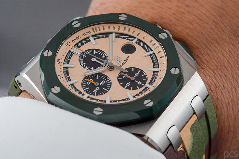 Wristshot Audemars Piguet Royal Oak Offshore Chronograph 44mm, Ref. #26400SO.OO.A054CA.01