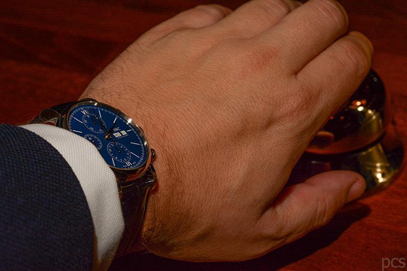 "Wristshot IWC Portofino Chronograph Edition ""150 Years"", Ref. IW391023"