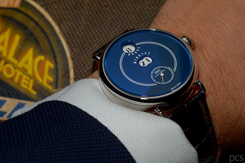 "Wristhot IWC Tribute to Pallweber Edition ""150 Years"", Ref. IW505003"