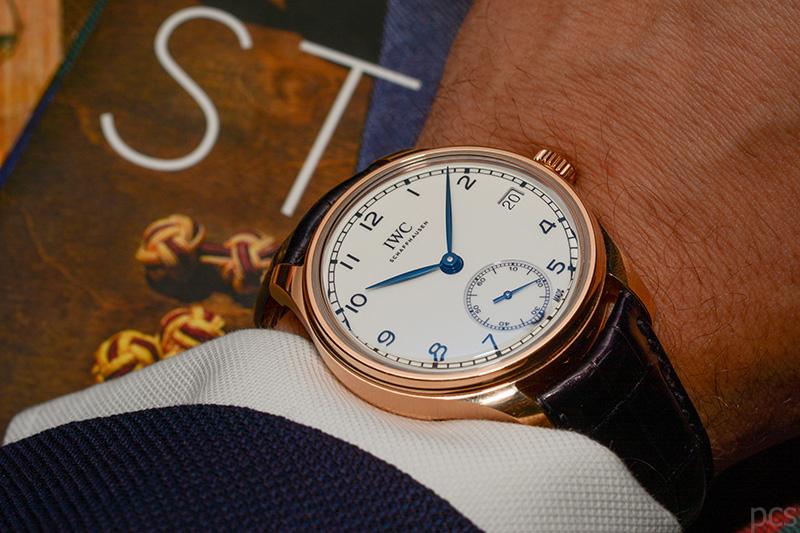 """Wristshot IWC Portugieser Hand-Wound Eight Days Edition """"150 Years"""", Ref. IW510211"""