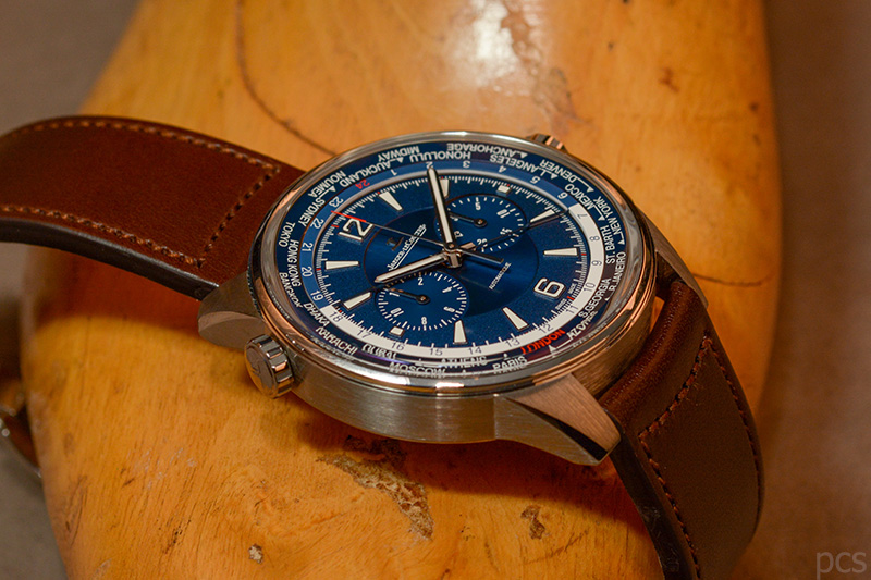 Luxify Review Jaeger-LeCoultre Polaris Chronograph World Time