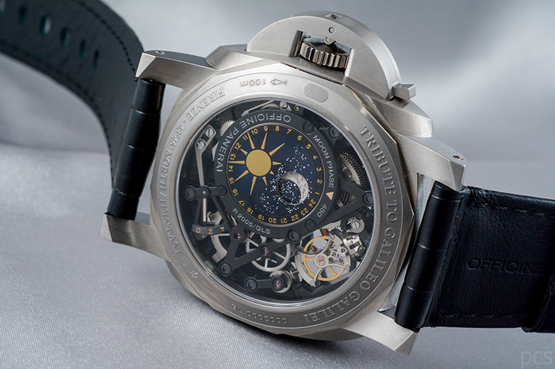 Officine Panerai L'Astronomo Luminor 1950 Tourbillon Moon Phases Equation of Time GMT - 50mm, PAM00920