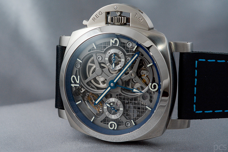 Officine Panerai Lo Scienziato - Luminor 1950 Tourbillon GMT Titanio - 47mm, PAM00767