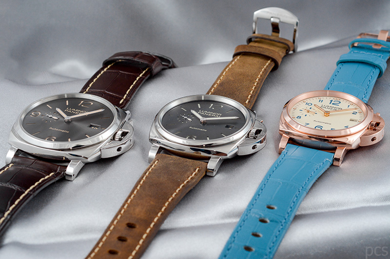 Officine Panerai Luminor Due 3 Days Automatic in 45mm (PAM00739), 42mm (PAM00904) und 38mm (PAM00756)