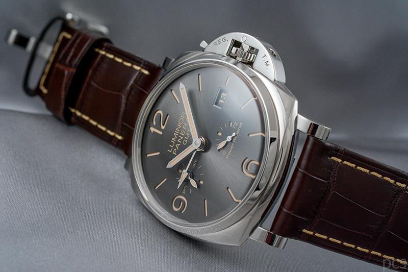 Officine Panerai Luminor Due 3 Days GMT Power Reserve Automatic Acciaio 45mm, PAM00944