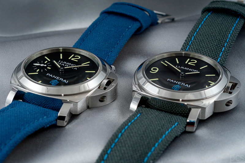 Officine Panerai Luminor Marina Logo und Luminor Base Logo