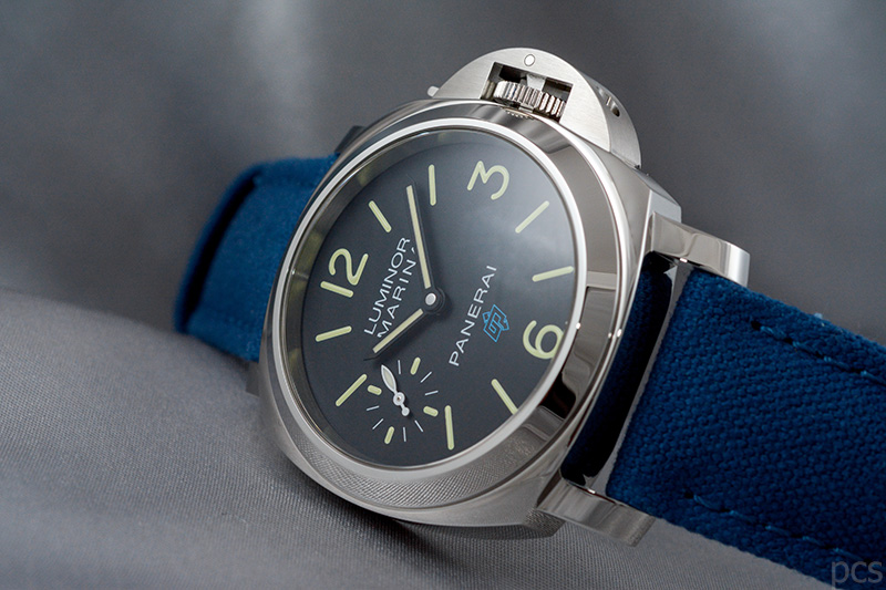 Officine Panerai Luminor Marina Logo 3 Days Acciaio 44mm, PAM00777