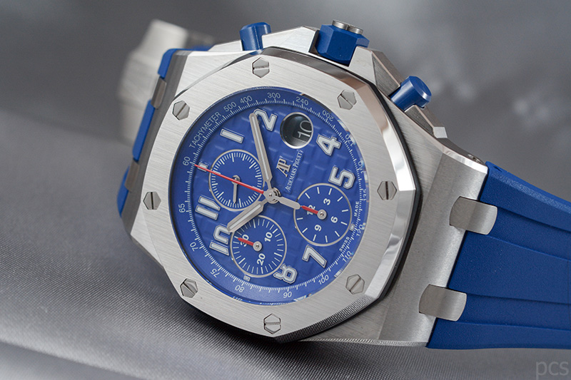 Blauer Audemars Piguet Royal Oak Offshore Chronograph 42mm, Ref. #26470ST.OO.A030CA.01