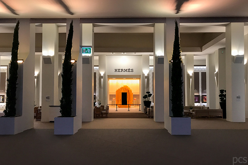Hermès Messestand SIHH 2018